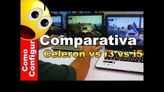 Intel Celeron vs. Intel Core i3 vs. i5 Que portátil comprar en Colombia para 2018?