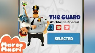 Play as The Guard (All Outfits) in Subway Surfers   Cowboy, Knight, Santa Claus and MORE