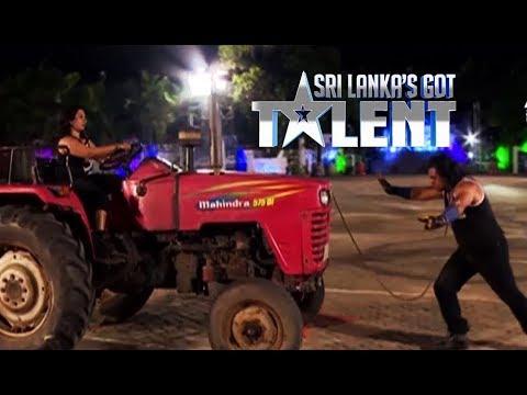 Sando Act by Saliya Sandaruwan & team | Sri Lanka's Got Talent | SLGT