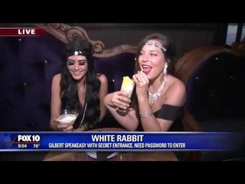 Cory's Corner: Exploring the White Rabbit Speakeasy in Gilbert