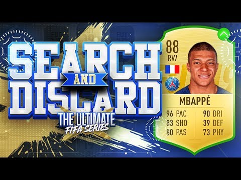 FIFA 19 SEARCH AND DISCARD!!! UPGRADED KYLIAN MBAPPE!!! The Ultimate Fifa Series Episode 4 thumbnail