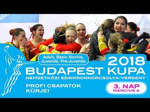 Budapest Nemzetközi Kupa 2018. március 4. | Profi csapatok  kűrjei | LIVE STREAM