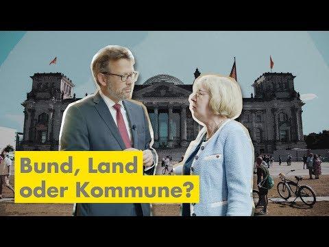 Bund, Land, Kommune... Wer Ist Wofür Zuständig?   Otto Fricke In Berlin 11011