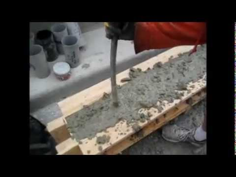 CE 563 mixing and casting a beam