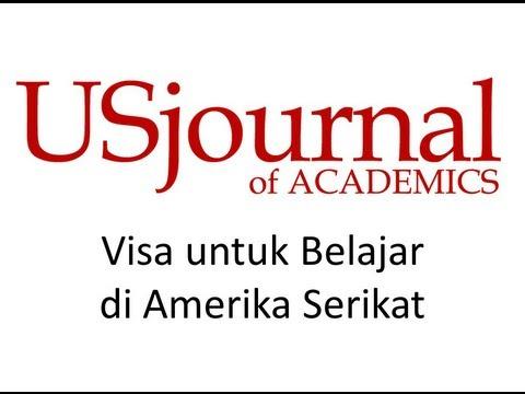 Visa untuk Belajar di Amerika Serikat