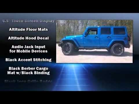 2014 Jeep Wrangler Unlimited Altitude Youtube