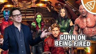 GOTG Director James Gunn Opens Up on His Disney Firing! (Nerdist News w/ Jessica Chobot)