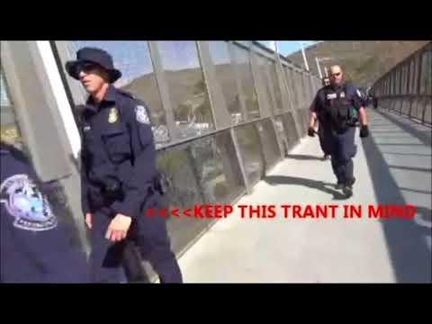 ***Tyrant Alert*** Border Patrol Agents Assault Photographers
