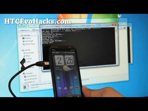 How to Get S-Off on HTC Evo 3D using Wire Trick! - [Juopunutbear S-OFF]