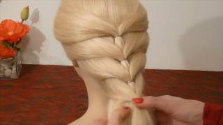 Back To School Hairstyles. SUPER Easy and Quick Braid Hairstyle. Penteados