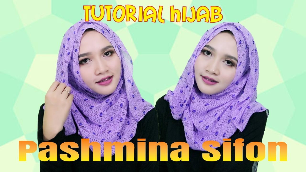 Tutorial Hijab Pashmina Sifon Terbaru 2017 Amalia Kurnia