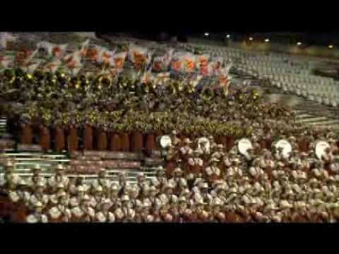 University of Texas at Austin Longhorn Band - Indiana Jones ESPN Competition Video