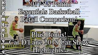 2017-18 Panini Essentials Basketball Retail Comparison plus Classic Car Show Highlights!