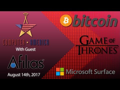 Afilias Interview, Bitcoin Tops $4,000, Arrests In Game of Thrones Hack, Microsft Surface Woes
