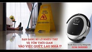 Bán máy hút bụi tại Đà Nẵng | Robot Osin hút bụi lau nhà tự động, thông minh tại Đà Nẵng 02363690089