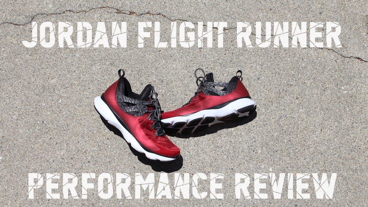 ef8dfca207dd61 Jordan Flight Runner Performance Review - YouTube