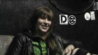 Mercedes Lander of Kittie - October 22, 2009 Interview (Part 2)