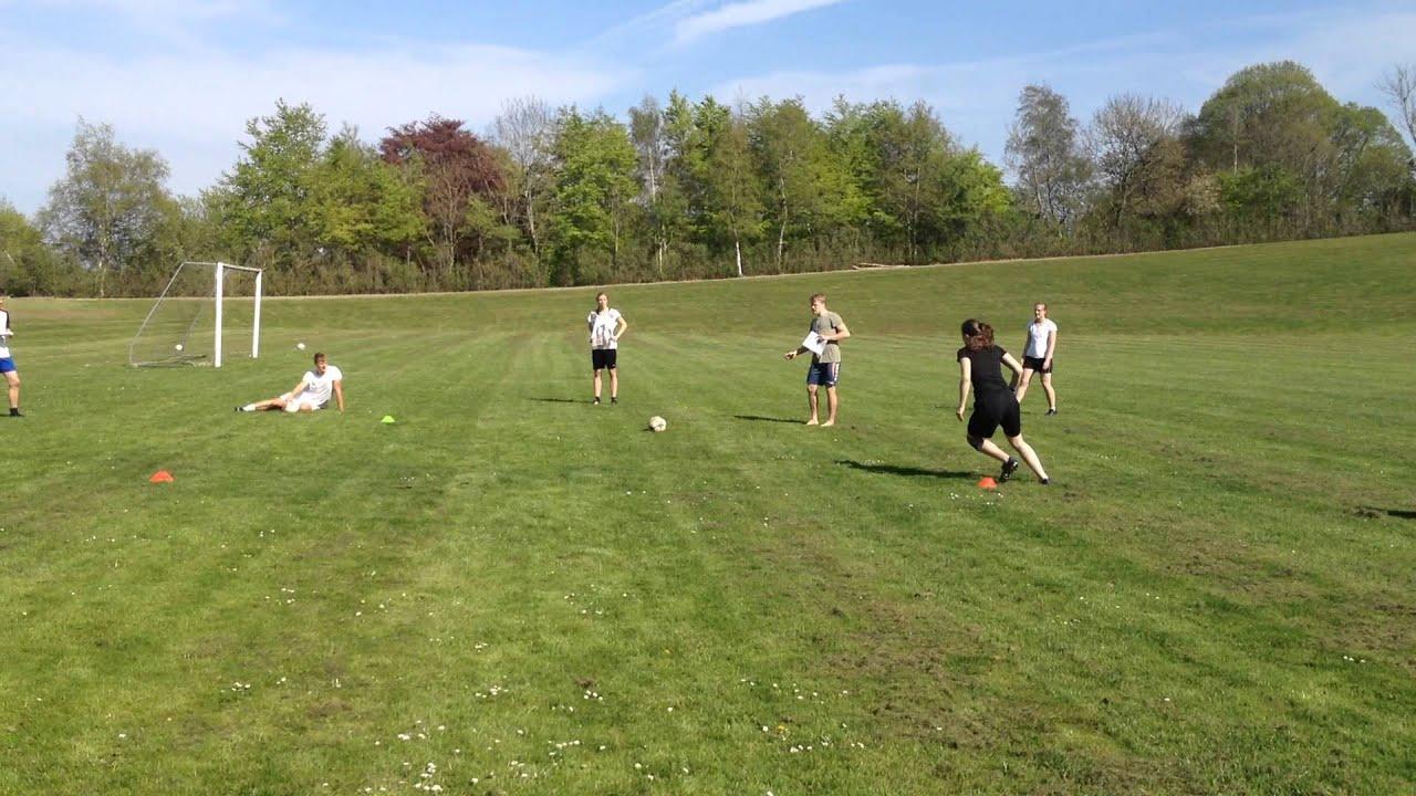 træningsprogram for fodboldspiller