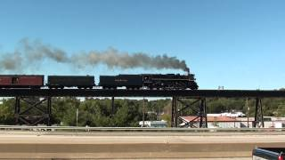 Nickel Plate 765 Westbound Missouri River Bridge Saint Charles, MO