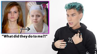 Hairdresser Reacts to Americas Next Top Model Makeovers S.13