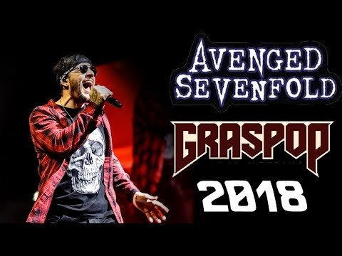 Avenged Sevenfold - Live @ Graspop 2018