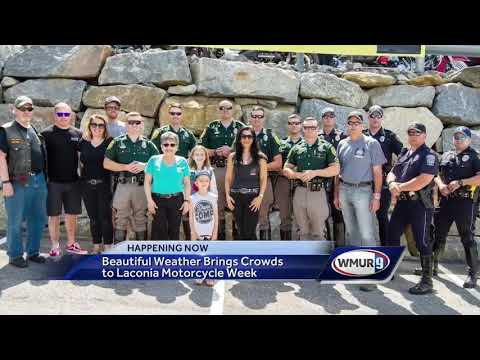 Beautiful weather brings crowds to Laconia Motorcycle Week