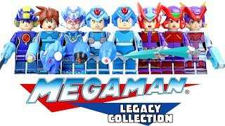 Mega Man Rockman ZX Fully Charged Legends Star Force & Battle Network Unofficial LEGO Minifigures