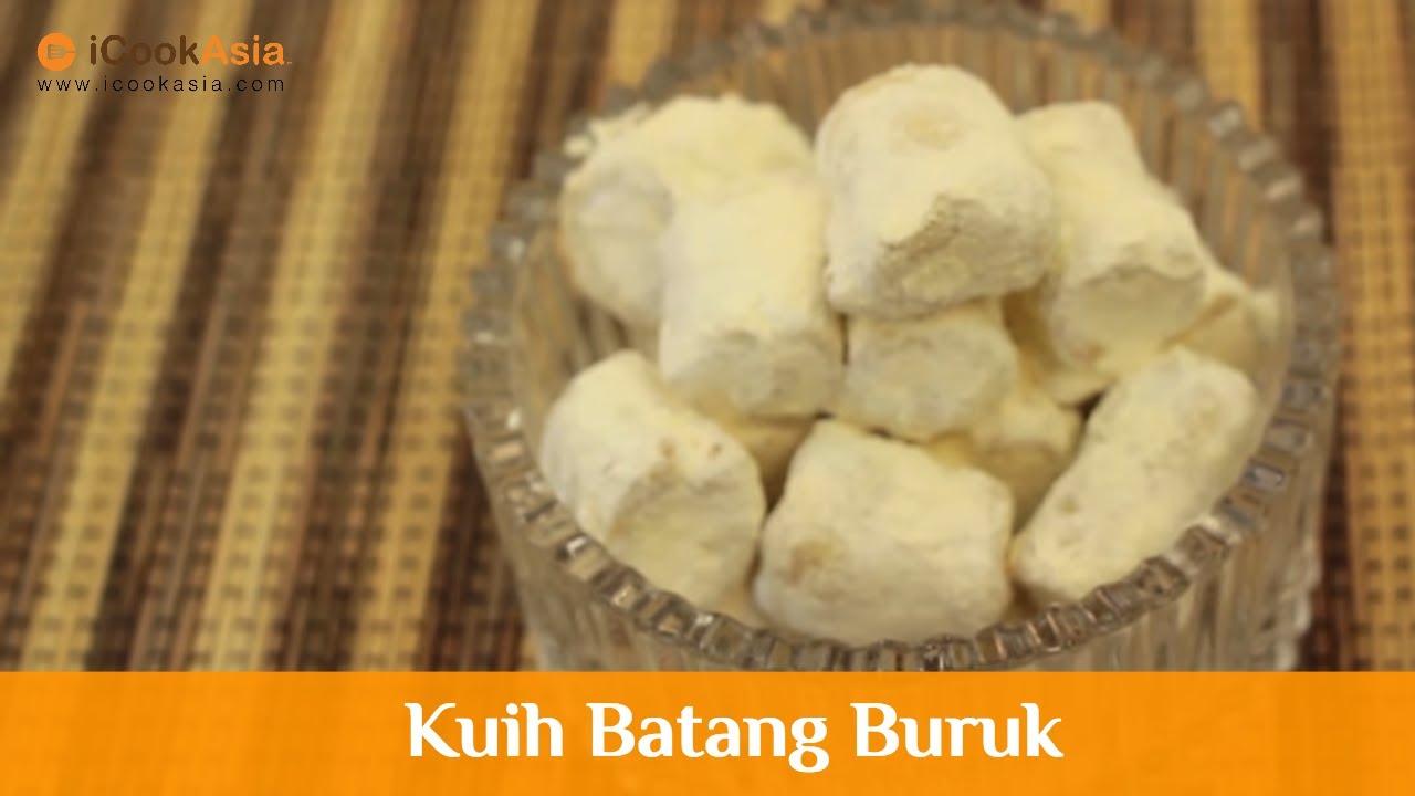 Kuih Batang Buruk | iCookAsia - YouTube