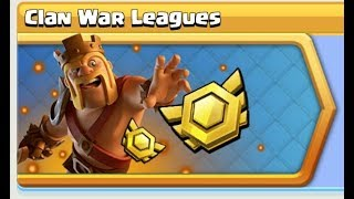 AN EPIC WAR! CLASH OF CLANS CLAN WAR LEAGUE!!BE THE ONE!!