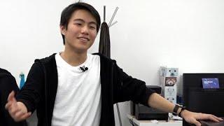 1億円を資金調達 16歳起業家の素顔 thumbnail