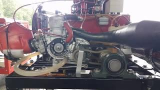 Banc d'essai moteur karting kz