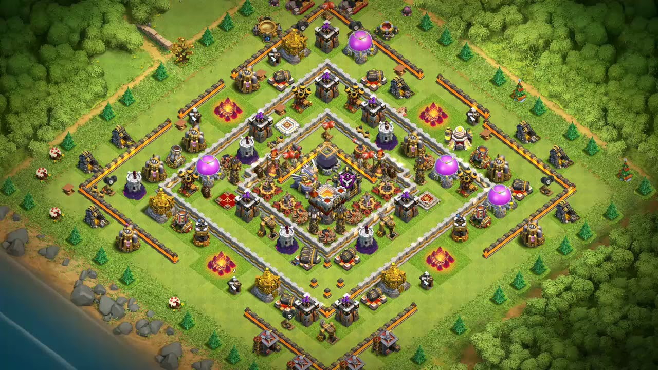 Undefeated Best Th11 Farming Base 2019 4