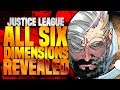 Justice League: All Six Dimensions Have Been Revealed!