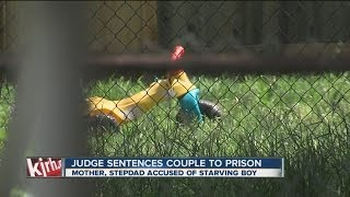 Tulsa mother, stepdad sentenced for starving son