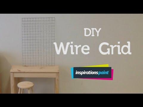 DIY Wire Grid