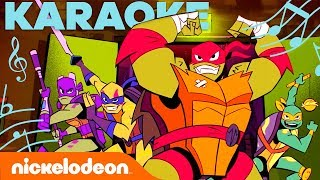 KARAOKE! 🎤 Rise of the Teenage Mutant Ninja Turtles Theme Song | #TurtlesTuesday