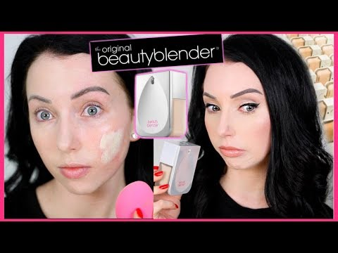 Hmmm...BEAUTY BLENDER BOUNCE WHIP FOUNDATION {First Impression Review & Demo!} Dry Skin