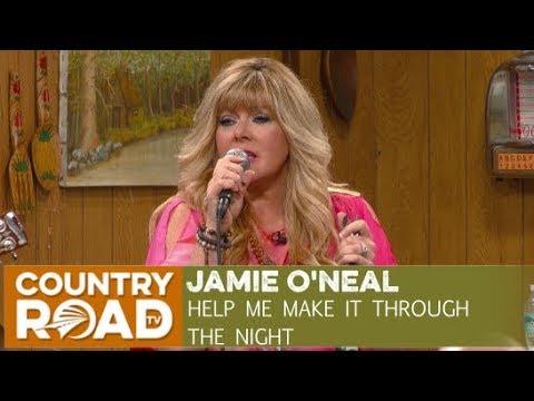 Jamie O'neal sings
