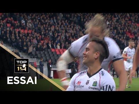 TOP 14 - Essai Benjamin BOTICA (USO) - Lyon - Oyonnax - J8 - Saison 2017/2018
