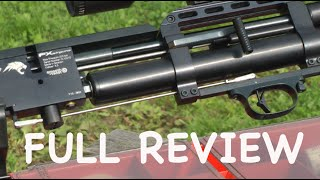 TORTURE TEST - FX Wildcat - 100 Yard Air Rifle Shooting - Power Accuracy