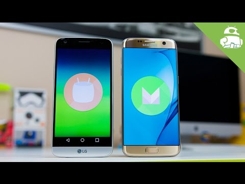 LG G5 vs S7 Edge