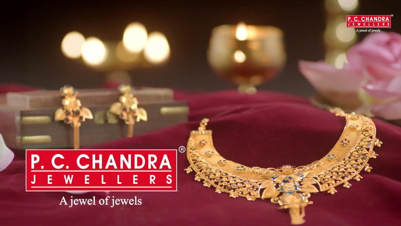 P C Chandra Jewellers A Wide Range Of Jewellery Collection Youtube