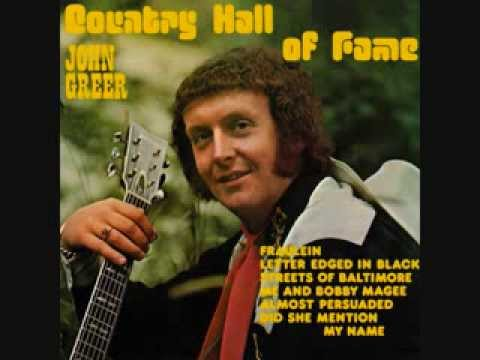John Greer - Me And Bobby Magee