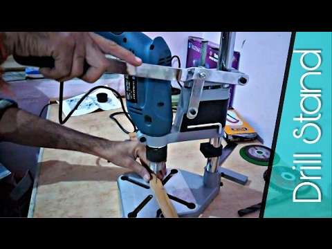 Drill Press Stand How To Setup and use -Review