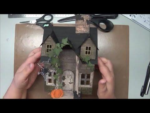Tutorial Anleitung Halloween Haus Dekoration Herbst Teil I Youtube