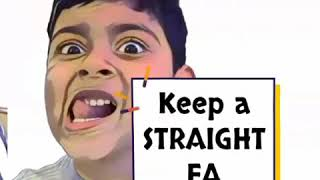 keep a straight face when taking photos comedy funny video