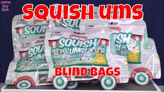 Squish Ums Yummy Blind bags Opening Surprise Toys For Kids Squishy Fun