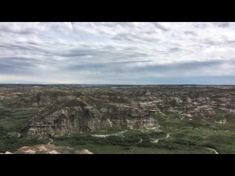 Dinosaur provincial park. Alberta.