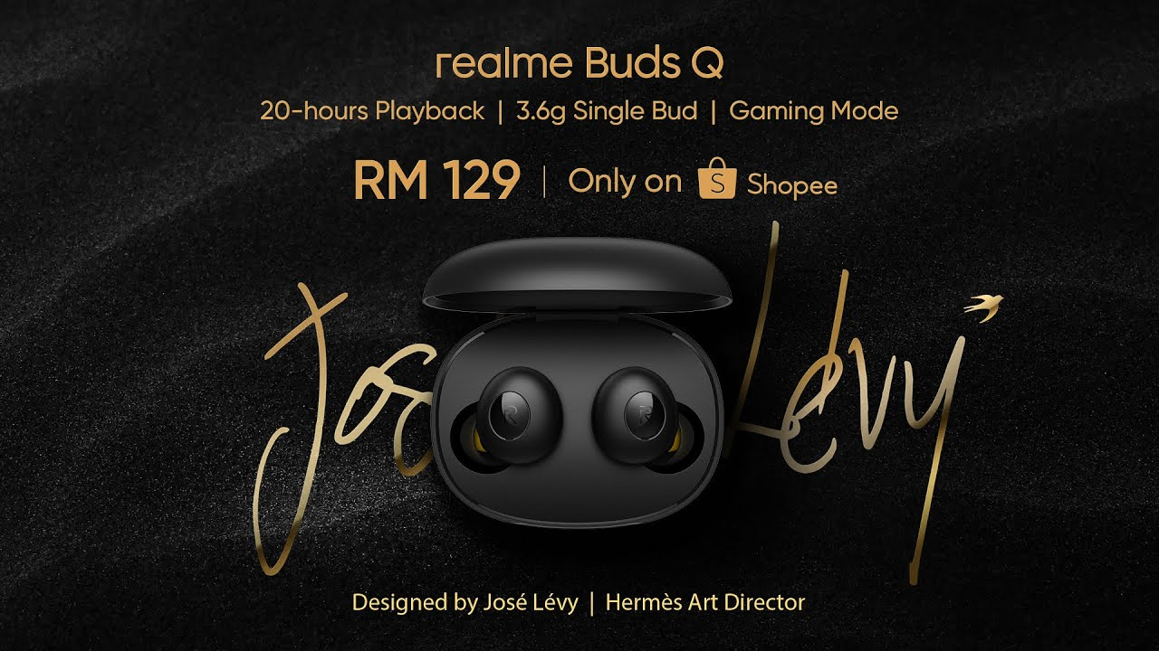 realme Buds Q RM89 (RRP: RM129) only on First Online Sale 7 July 12AM exclusive on Shopee