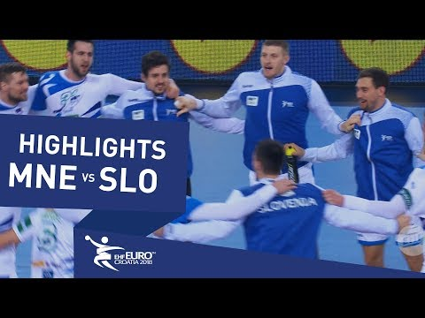 Highlights | Montenegro vs Slovenia | Men's EHF EURO 2018
